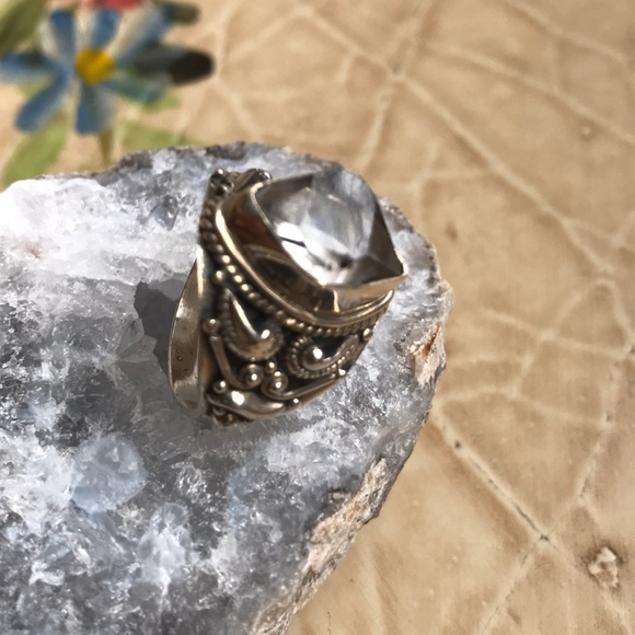 Herkimer Diamond 24k sz 7.5
